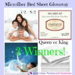 Bed sheet giveaway
